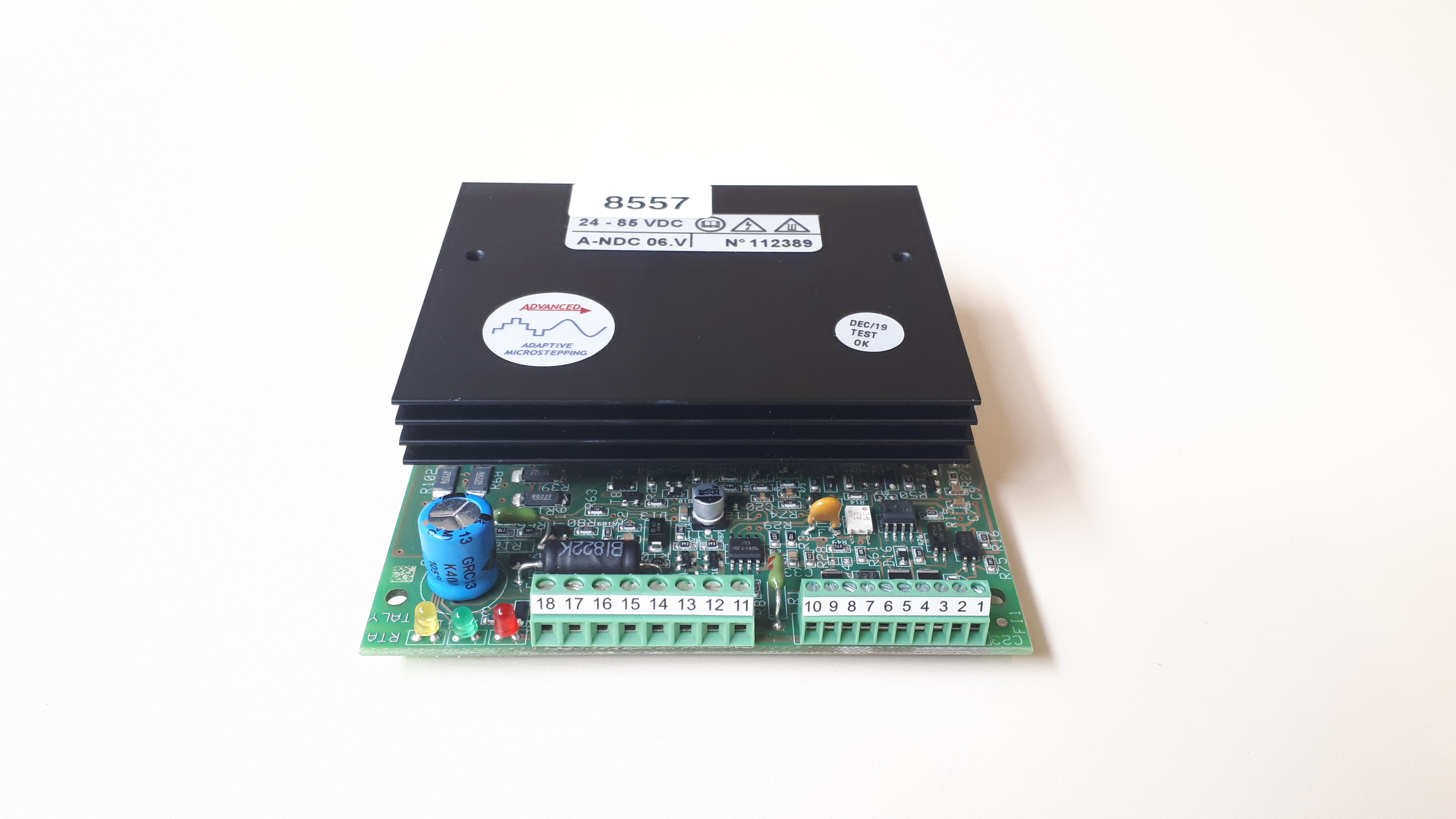 Carte moteur pour étiqueteuse HM 600
