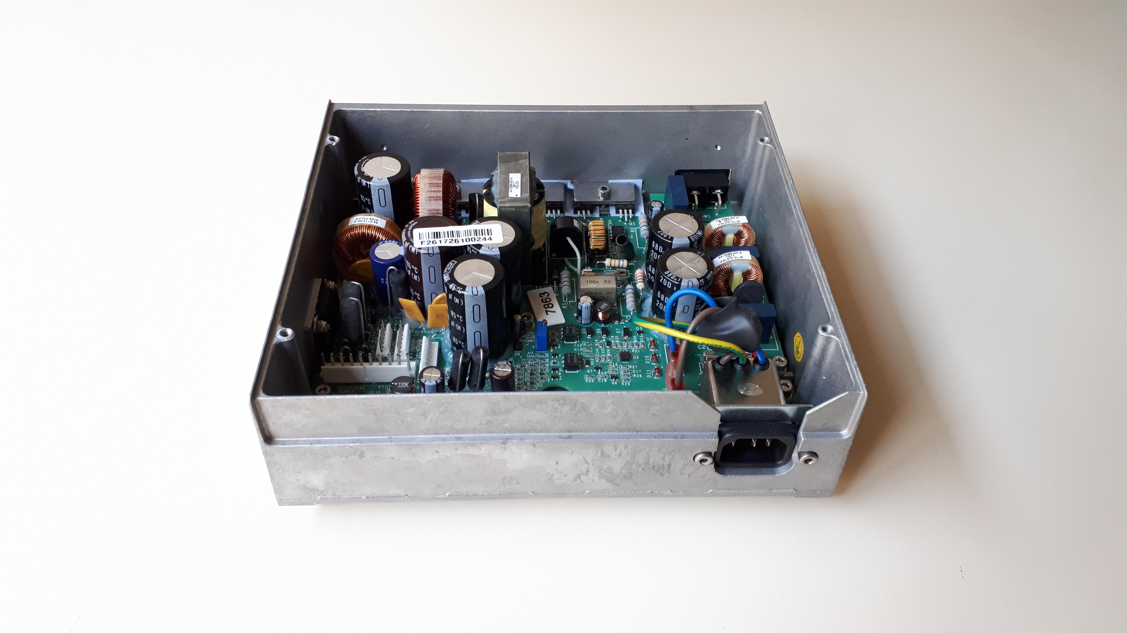Carte CPU + alimentation étiqueteuse HM Systems