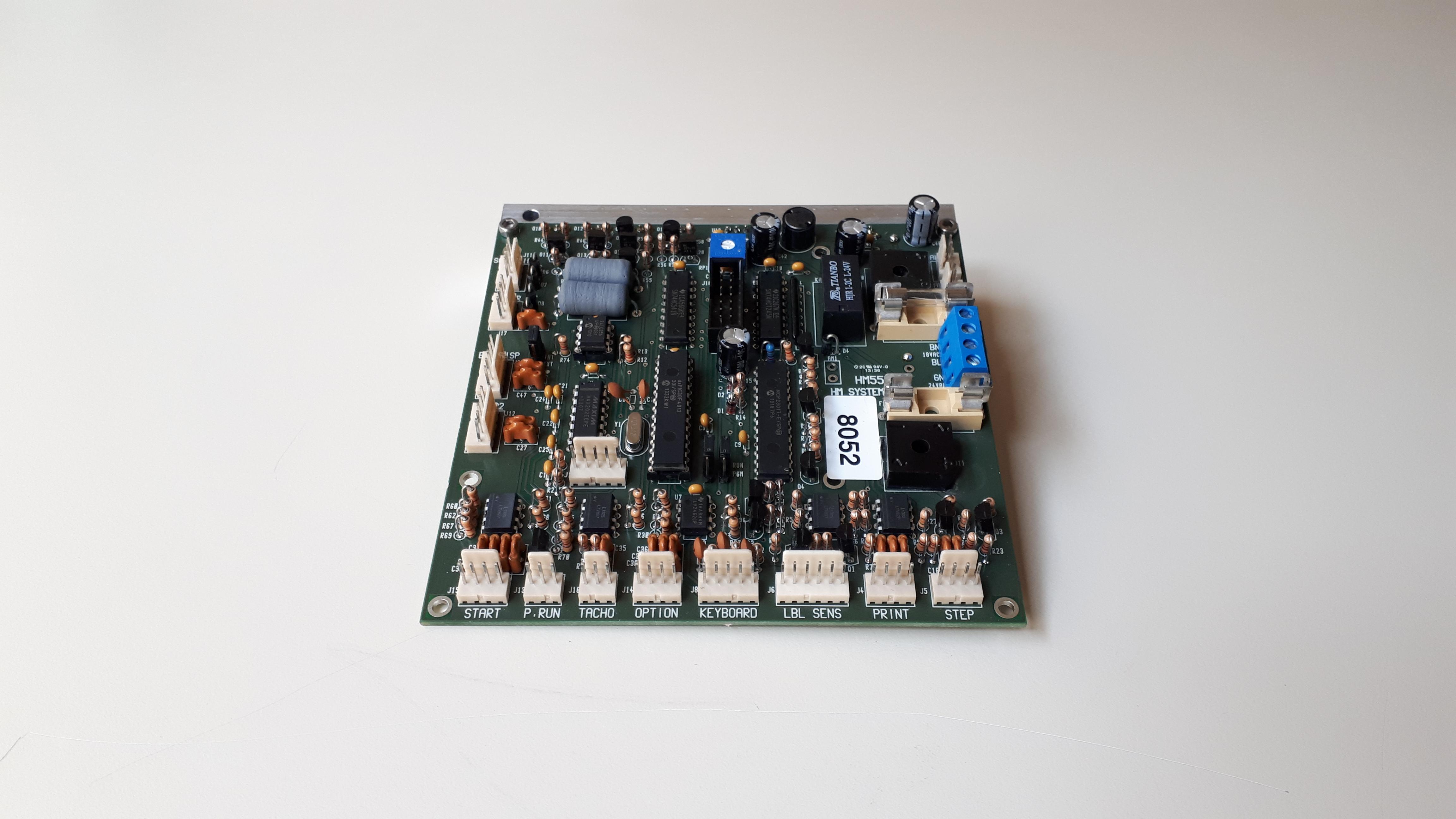 Carte CPU/alimentation pour étiqueteuses HM 300 & HM 600