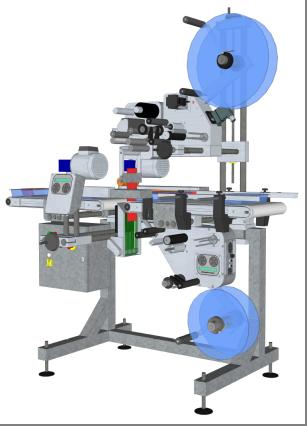 Système d'étiquetage spécial C Wrap HM Systems