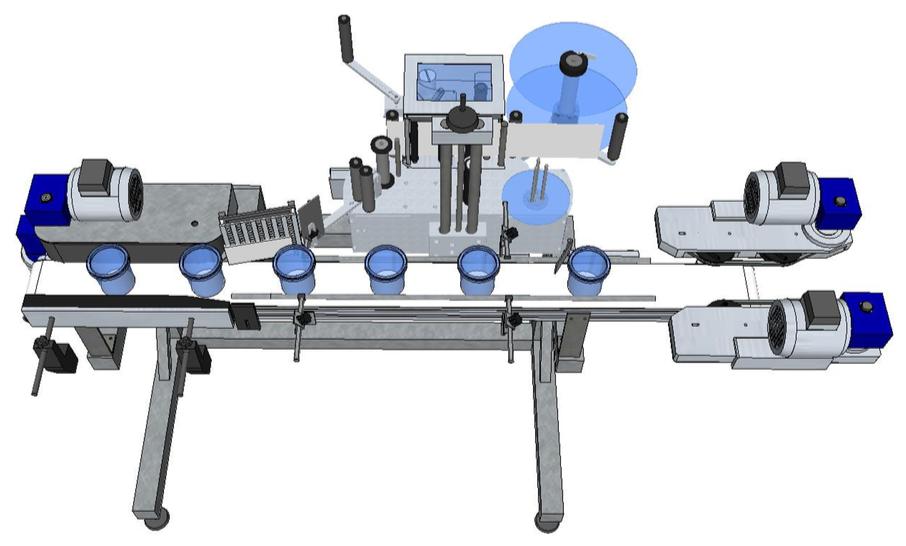 Système de banderolage avec HM 600P