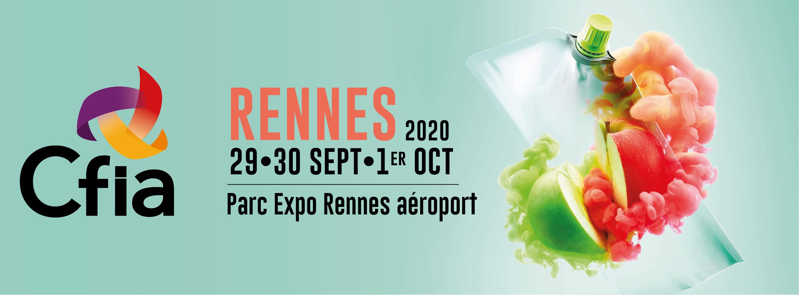 Etiqueteuse industrielle - Salon CFIA Rennes