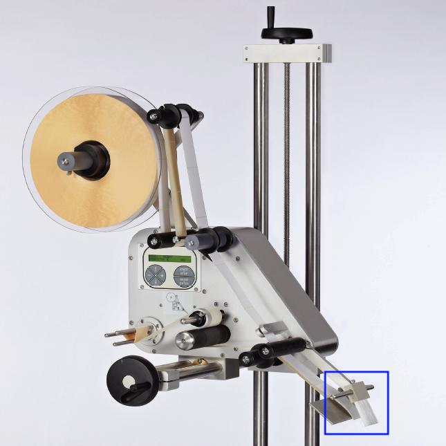 Brosse sur l'étiqueteuse industrielle HM 600 HM Systems