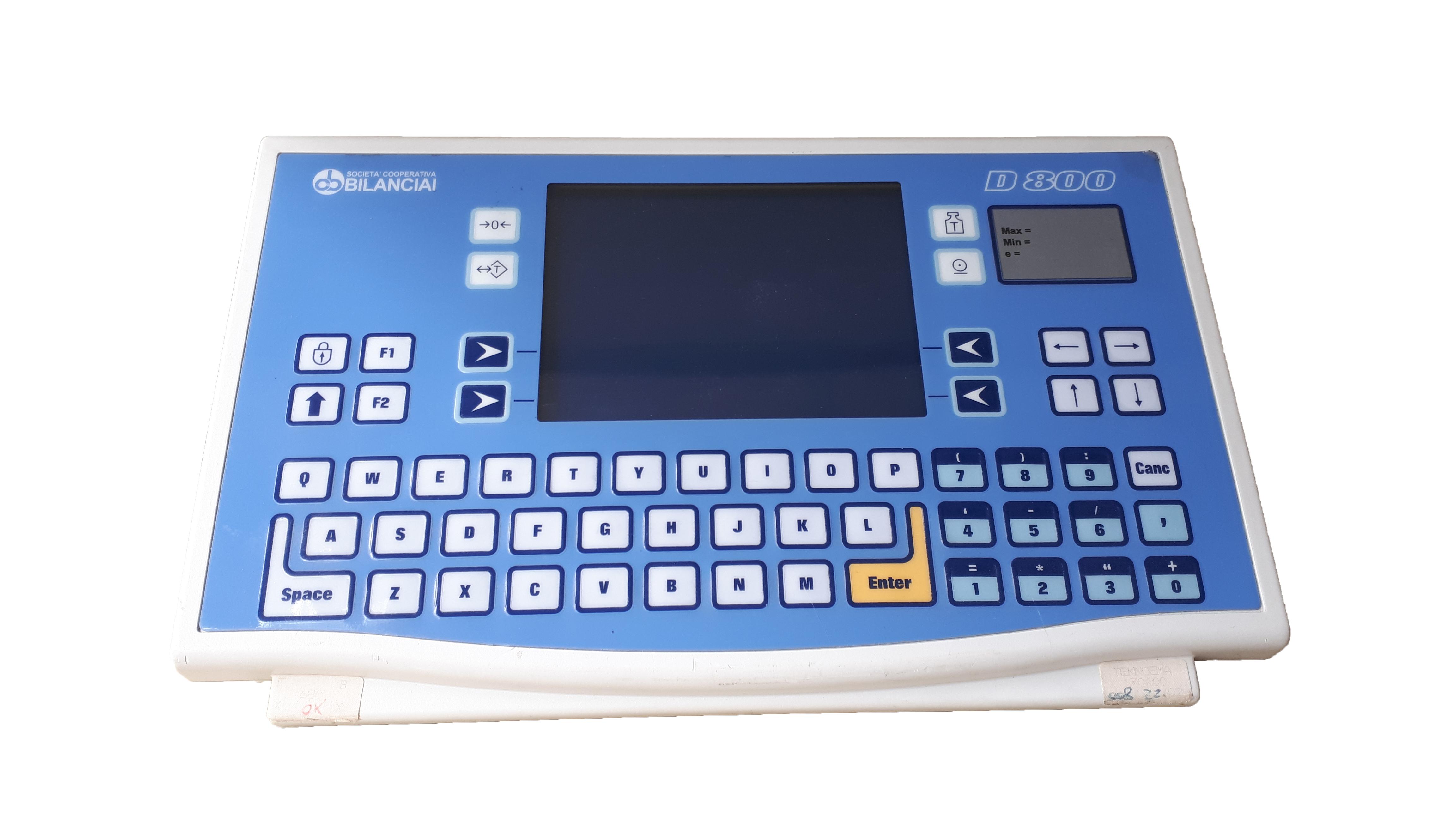 Indicateur de balance industrielle Bilanciai D800