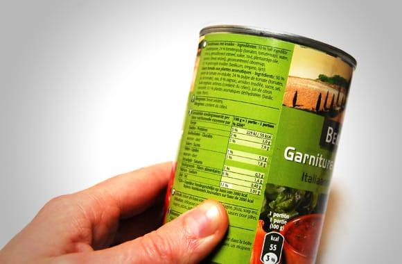 étiquetage des denrées alimentaires préemballées