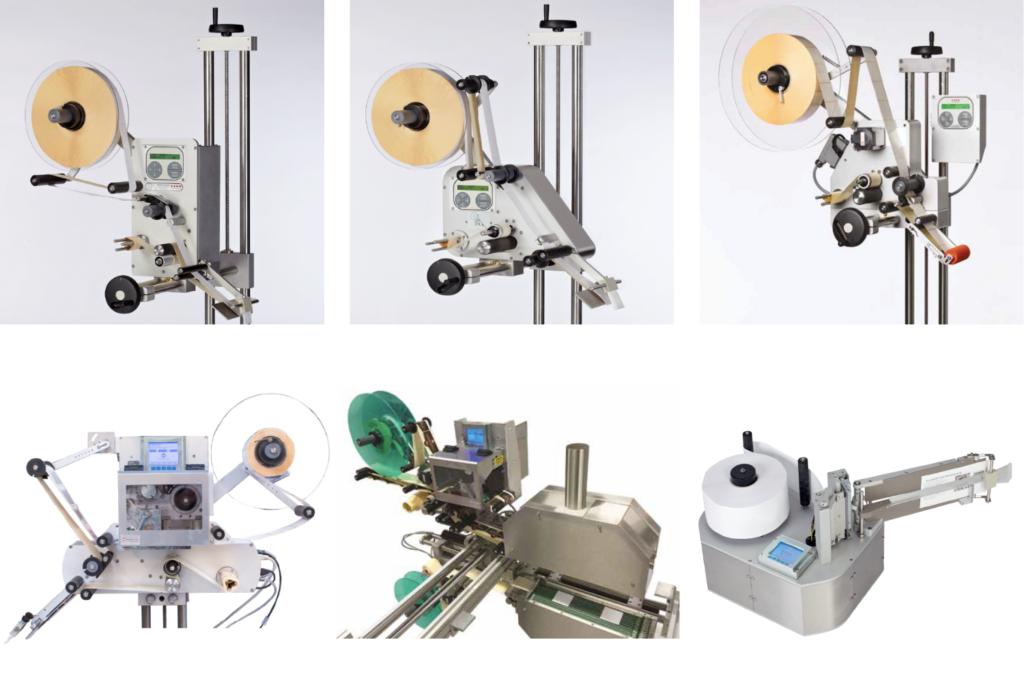 étiqueteuses industrielles HM Systems