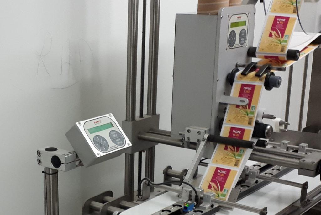 Afficheurs étiquetage industriel automatique